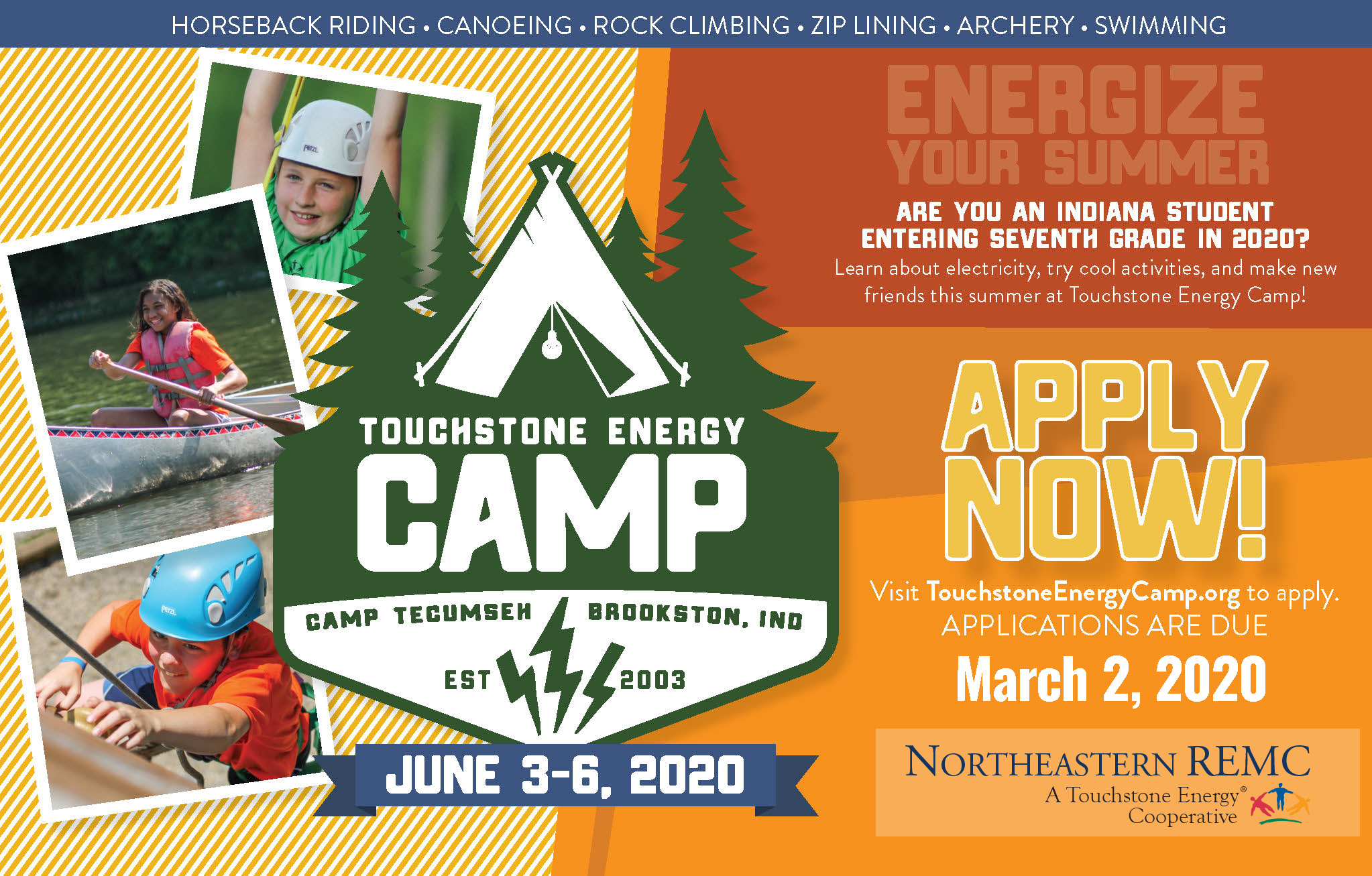 touchstone energy camp